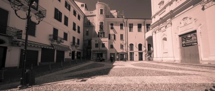 Piazza Cassini, Sanremo, Pigna, Centro storico